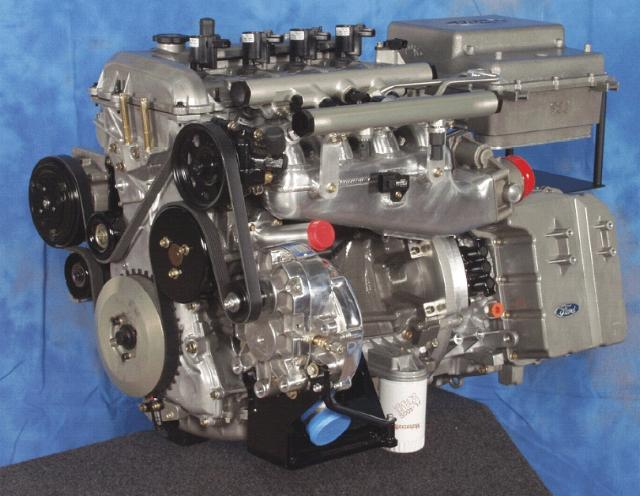 duratec 2.3 engine weight