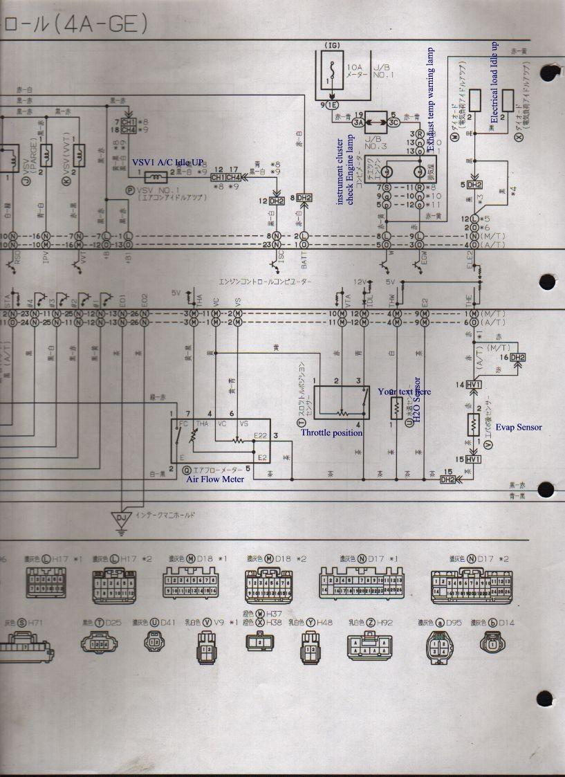 Lotus Europa Master Documentation Menu 1982 Supra Electrical Wiring Diagrams Pdf Ae101 4a Ge 20v Ecua 147k