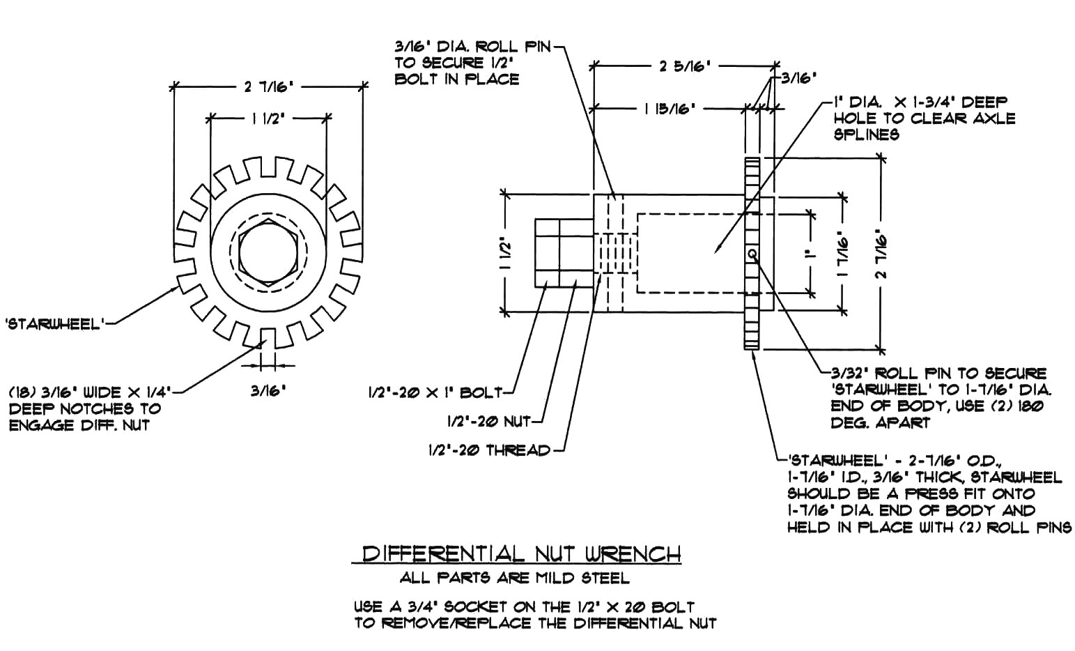 Lotus Europa Master Documentation Menu Differential Gear Schematic Nut Wrench Drawing