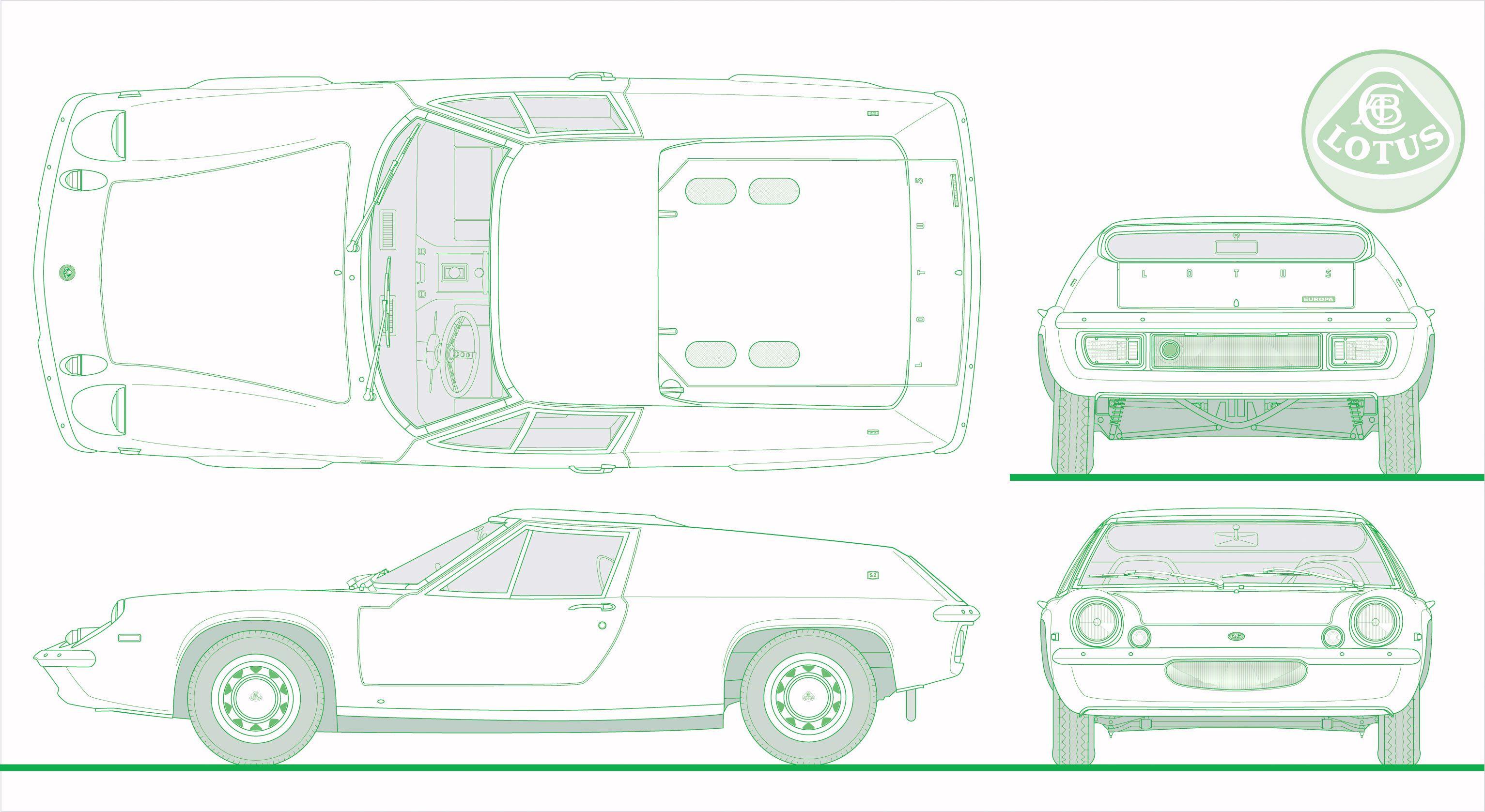 Lotus Europa Master Documentation Menu Caravan Wiring Diagram Type 54 Drawing