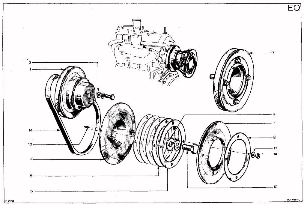 tc parts manual  a074e6005z - drawing ma 15