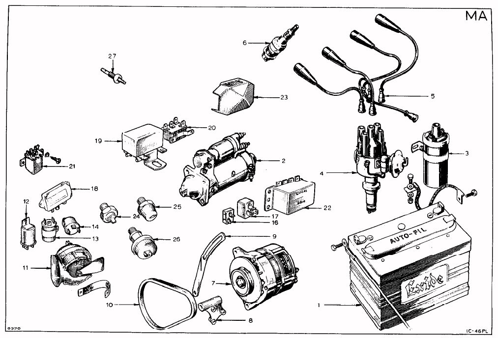lotus europa wiring diagram